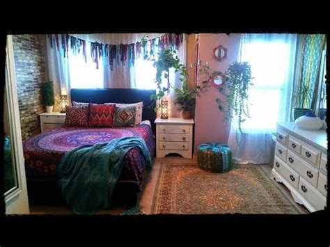 bohemian gypsy bedroom  youtube