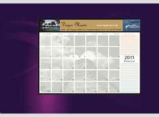 Modelos de calendarios organizadores y calendarios de bolsillo