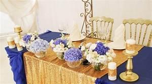 Deco Mariage Bleu Marine : decoration de mariage bleu roi et jaune ~ Teatrodelosmanantiales.com Idées de Décoration