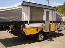 fleetwood   road tent trailer  atv storage
