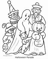 Ghost Coloring Pages Halloween Costume Printable sketch template