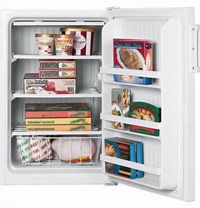 Ge U00ae 5 0 Cu  Ft  Manual Defrost Upright Freezer