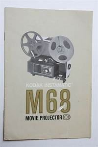 Kodak M68 Movie Projector Instruction Owners Manual Guide