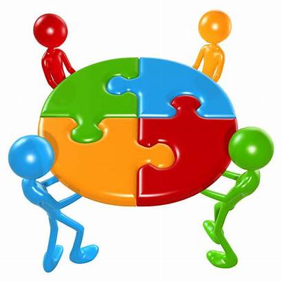 Working Together Team Teamwork Puzzle Collaboration Sharing