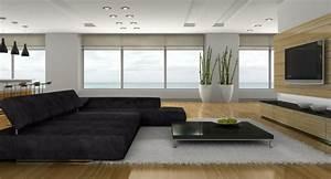 Große Pflanzen Fürs Wohnzimmer : wie ein modernes wohnzimmer aussieht 135 innovative ~ Michelbontemps.com Haus und Dekorationen
