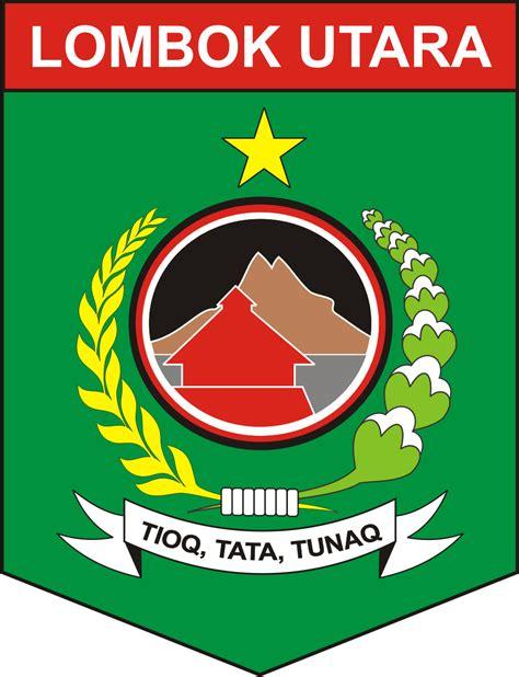 logo kabupaten lombok utara logo lambang indonesia