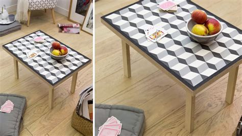 table cuisine ceramique la table carreau ciment diy