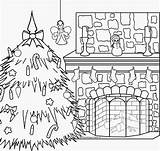 Coloring Christmas Fireplace Pages Xmas Pole North Merry Colouring Scene Gingerbread Nativity Dog Scenes Printable Interactive Fresh Fireplaces Catholic Getcolorings sketch template