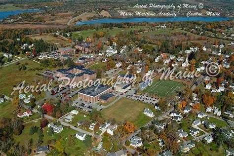 Aerial Photography of Maine