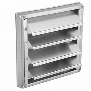 100mm Stainless Steel Wall Air Vent Square Tumble Dryer