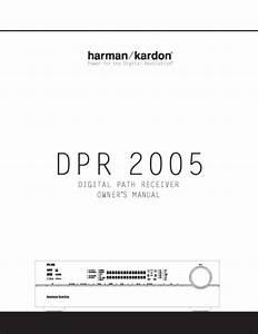 Schematic Diagrams Harman Kardon Dpr2005 Receiver
