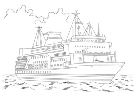 Goederentrein Kleurplaat by Steam Coloring Coloring Pages