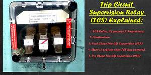 Trip Circuit Supervision Relay Explained In Detail