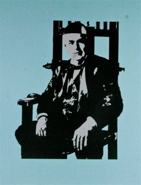Edison Electric Chair by Postersandprints A Graffiti The Best