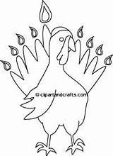Coloring Turkey Pages Yarmulke Mohawk Indian Printable Template Tribe Hanukkah Thanksgiving Thanksgivukkah Feather Feathers sketch template