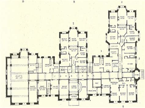 Mansion Floor Plans by Luxury Mansion Floor Plans Historic Mansion Floor Plans