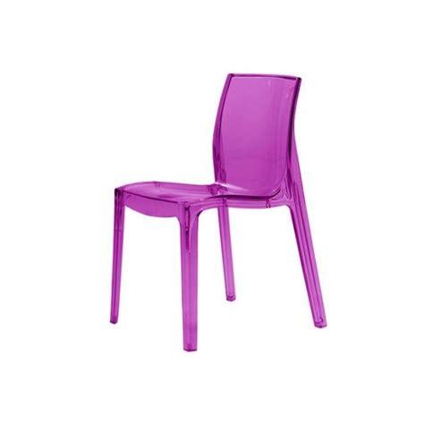 chaises couleur chaises plastique transparent couleur chaise idées de