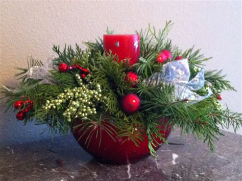 christmas centrepieces to make homemade holiday make your own christmas centerpiece