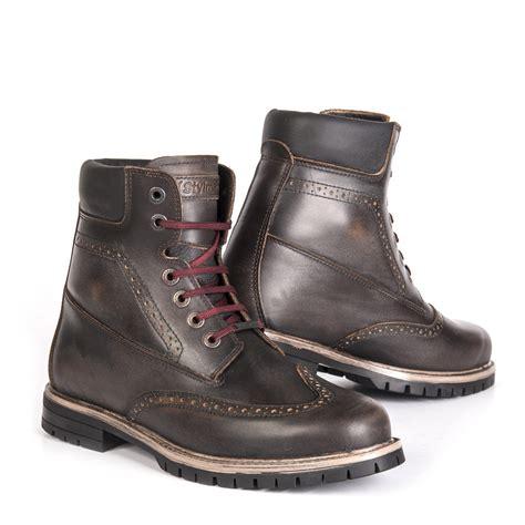 best motorbike boots stylmartin motorcycle boots wave waterproof brown