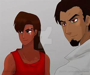 TLK2+Anime+Human-practice: Kovu and Nuka by The ...