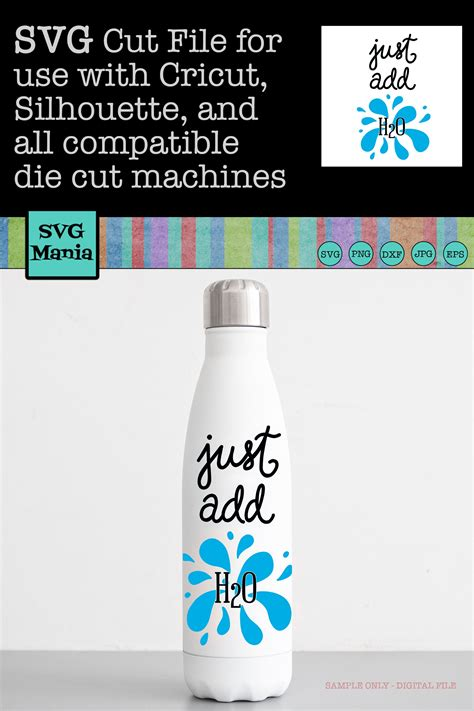 water bottle svg water bottle label svg  add  svg  cut files design bundles