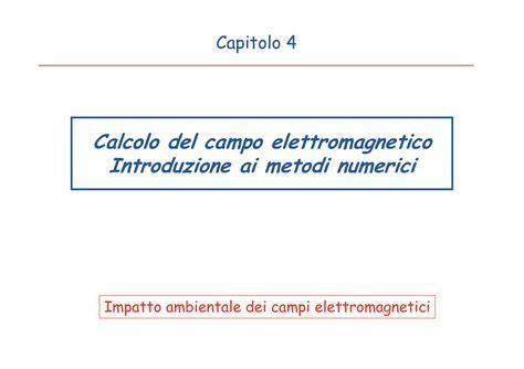 Ci Elettromagnetici Dispense by Ci Elettromagnetici Normativa Dispense