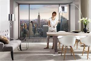 Fototapete Fenster Aussicht : fototapete penthouse 368x254 new york loft in manhattan ~ Michelbontemps.com Haus und Dekorationen