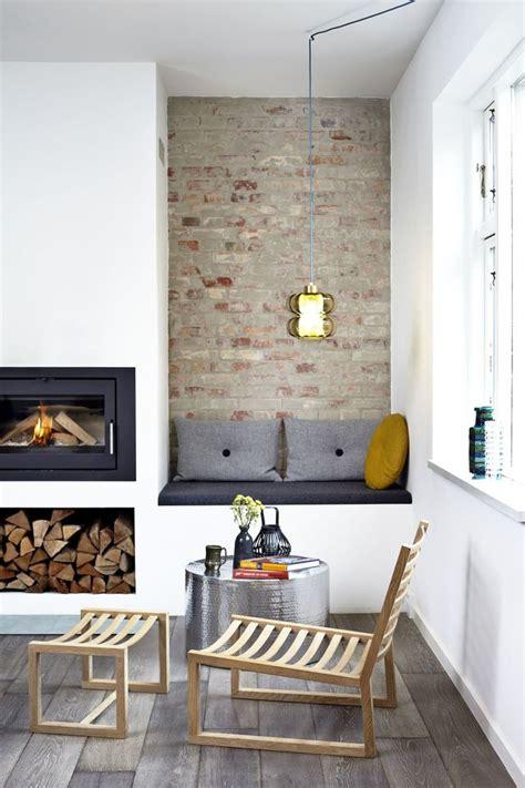 coin cuisine avec banquette mur de briques et style industriel 15 photos trouvées sur côté maison