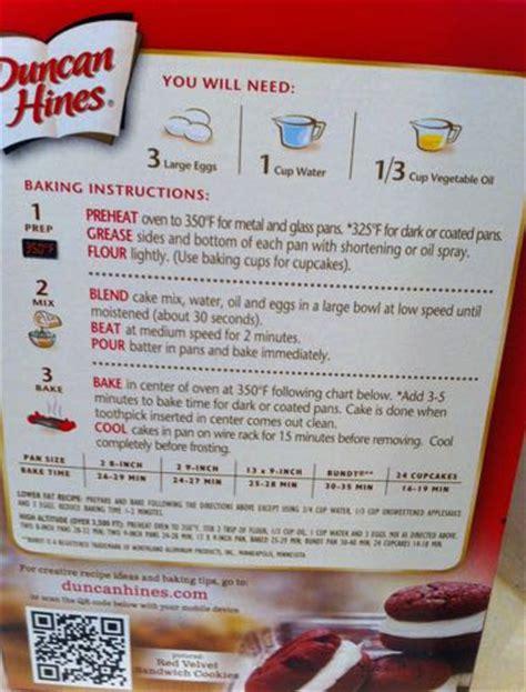 betty crocker cake mix instructions   box