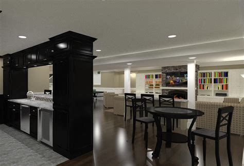 basement finishing  remodeling designs  morris county