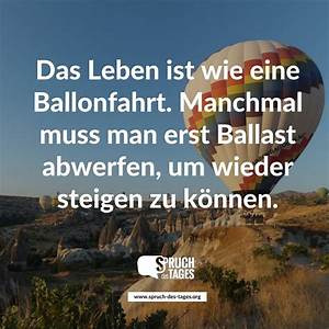Wie Breit Muss Ein Doppelcarport Sein : das leben ist wie eine ballonfahrt manchmal muss man erst ballast abwerfen um wieder steigen ~ Whattoseeinmadrid.com Haus und Dekorationen