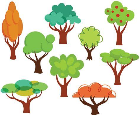 Free Cartoon Trees Vectors Vector Art & Graphics