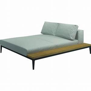 Chill Lounge Garten : garten lounge grid chill chaise unit gloster ~ Michelbontemps.com Haus und Dekorationen