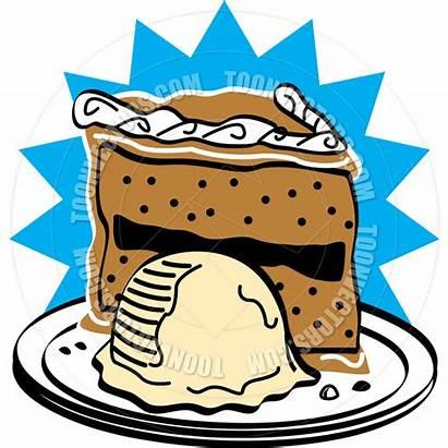Cake Clipart Cream Birthday Ice Slice Icecream