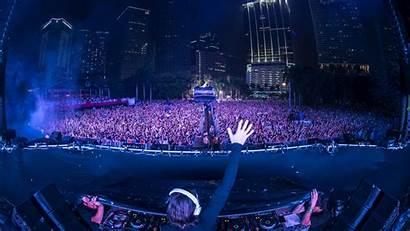 Wallpapers Concert Stage Desktop Alesso Bts Crowd