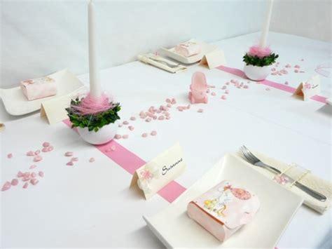 taufe dekoration tisch mustertische f 252 r taufe in rosa ideen tischdeko