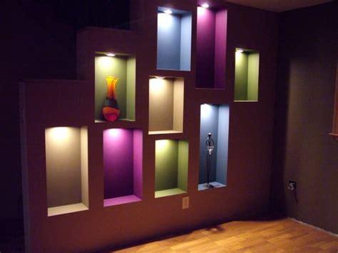 niche lighting buscar con wall ideas