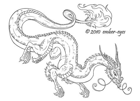 Coloring Book Dragon By Ember-eyes.deviantart.com On