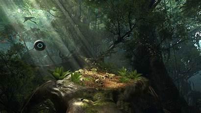 Robinson Journey Vr Forest Cryengine Screenshot Vive