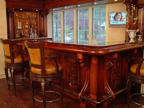 Residential Bars by Residential Bars Traditional New York By Wl Interiors