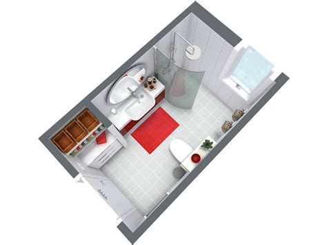 Bathroom Design Floor Plans by Bathroom Planner Roomsketcher