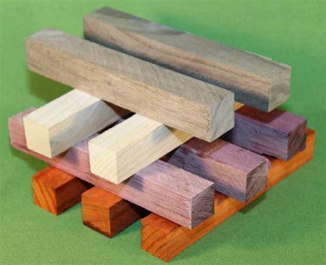 Pen Turning Blanks Set of 10 Exotic Hardwoods