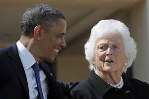 Obama, ex-President Clinton wish Barbara Bush - NY Daily News