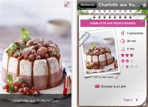 recettes de cuisine gratuite plus de 1000 recettes dans les apps iphone gourmandes