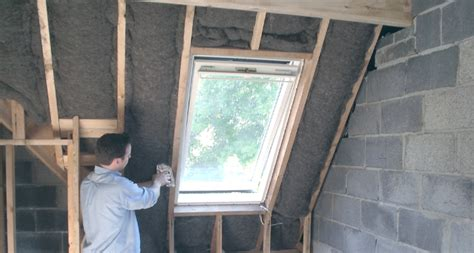 Installing Ceiling Joists by Loft Insulation And Storage Thegreenage
