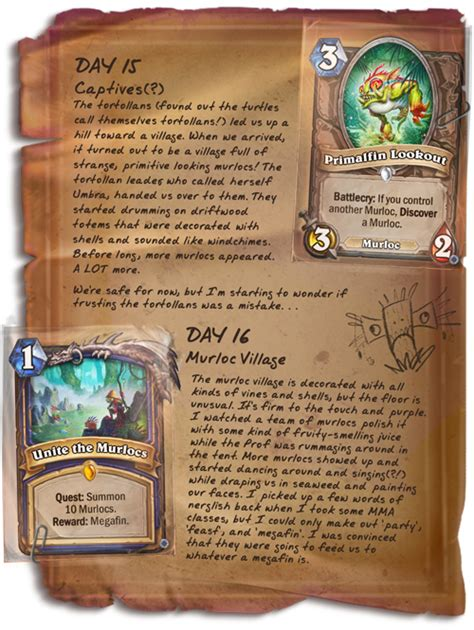 Shaman Murloc Deck No Quest by Hearthstone News New Hearthstone Post Shows The