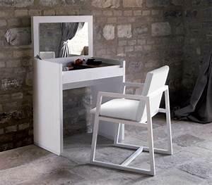 Coiffeuse Meuble Noir : le meuble coiffeuse design 21 propositions ~ Farleysfitness.com Idées de Décoration