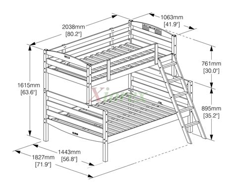 Bunk Bed Dimensions by Bunk Bed Bunk Bed And Day