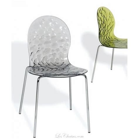 chaises transparente chaise violette design pas cher advice for your home