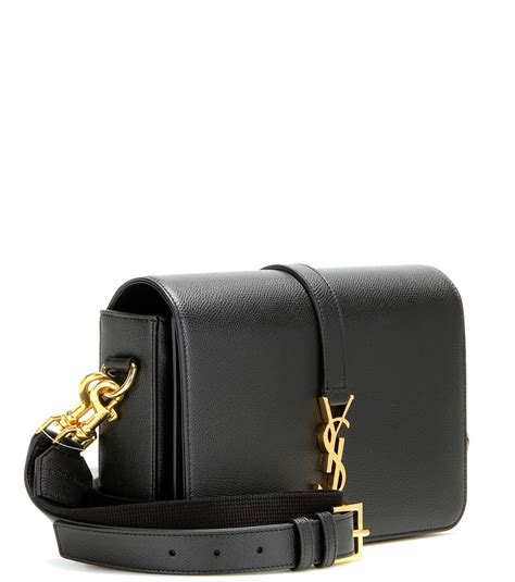 saint laurent monogram universite medium leather shoulder